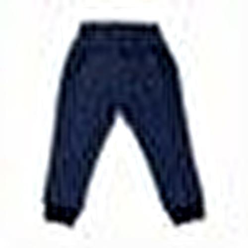 Dino Embroidered Cotton Rib Baby Pants