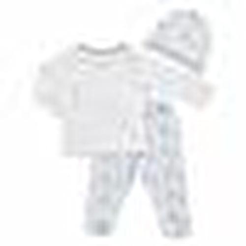 Yaz Kız Bebek Roboticorn 3lü Zıbın-Şapka-Patikli Alt