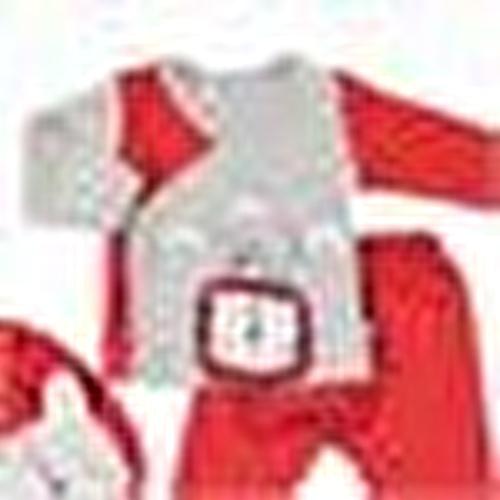 Lion Baby Bodysuit Pants Apron Set 3 pcs
