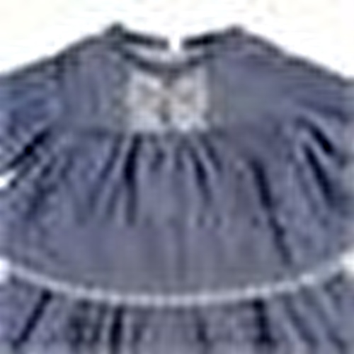 Baby Girl Scalloped Lace Detailed Dress