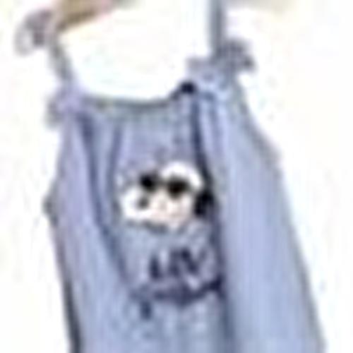 Snoopy Licensed Printed Sleeveless Baby Girl Jumpsuit