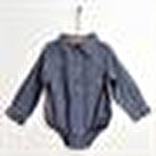 Baby Dino Cotton Long Sleeve Shirt