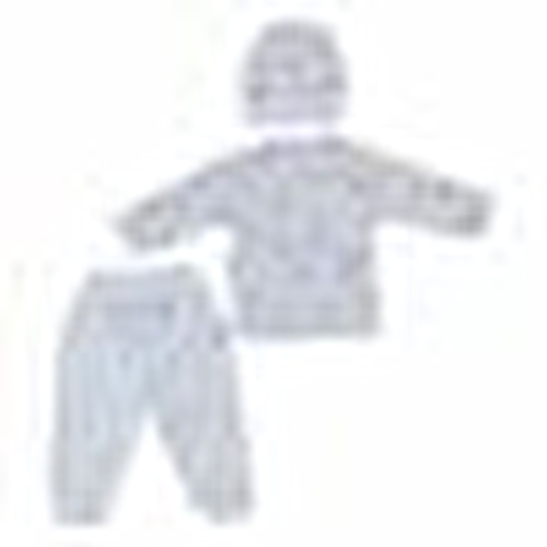 Baby Bodysuit Hat With Booties Bottom 3-Piece Set