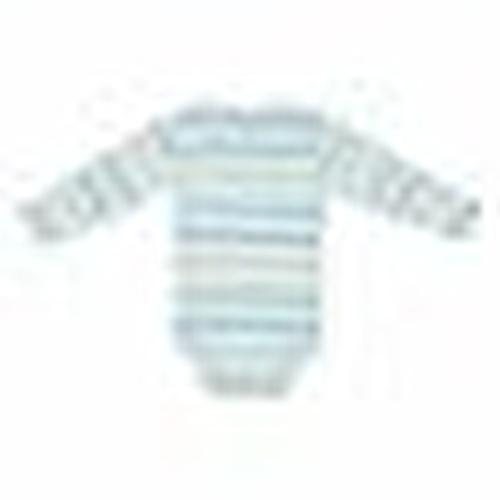 Kış Erkek Bebek Stars Yakası Çıtçıtlı Uzun Kol Body