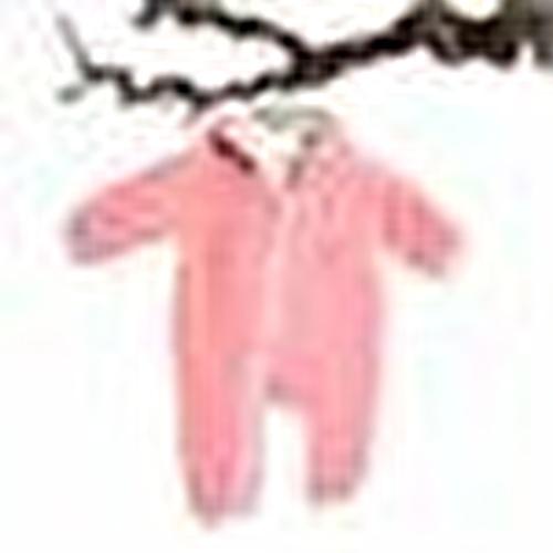 Carla Baby Girl Hoodie Rib Romper