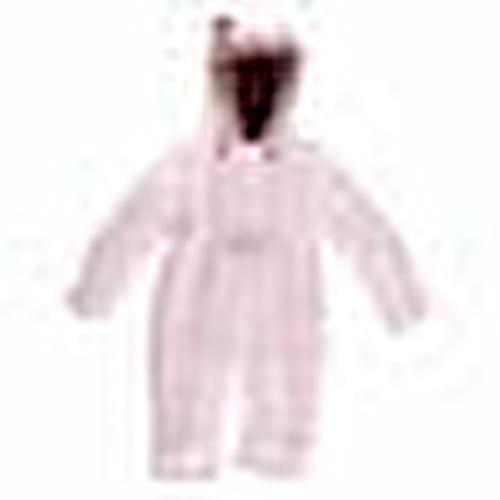 Winter Love Baby Girl Welsoft Lined Astronaut Snowsuit Romper