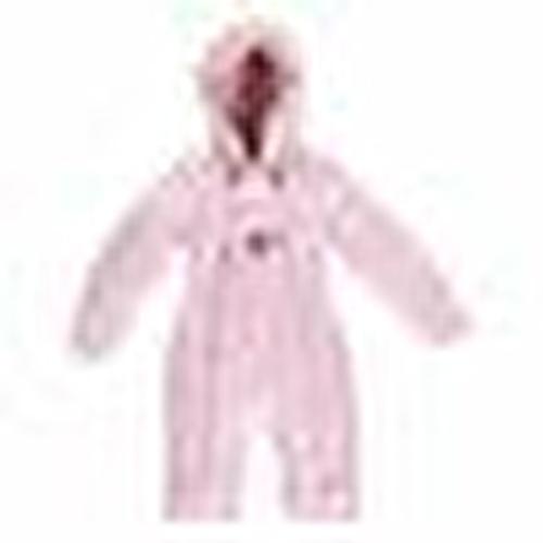 Winter Balloon Baby Girl Welsoft Lined Astronaut Snowsuit Romper