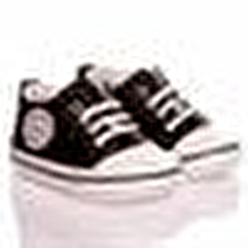 Baby Silvery Polyester Shoes