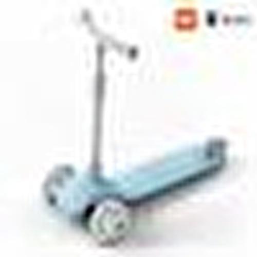 Mitu Işıklı Scooter Mavi