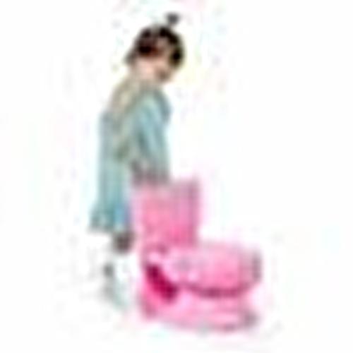 Bebek Tuvalet Eğitimi Lazımlık Klozet 18 Ay+ Pembe