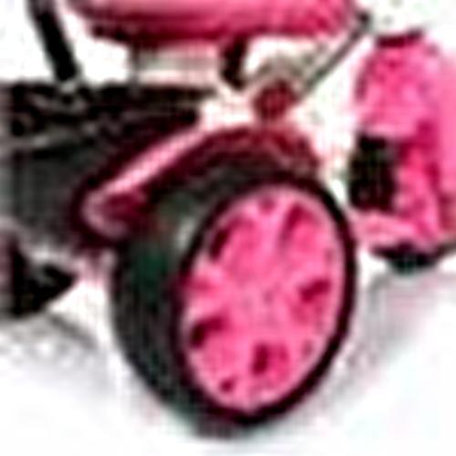 Bobo Speed Tenteli 3 Tekerlekli Bisiklet Pembe