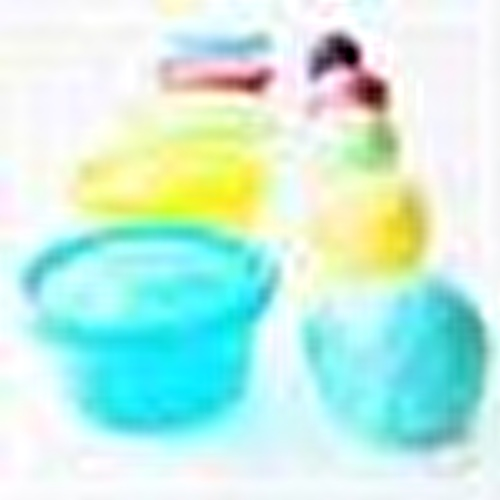 Colorful Food Storage Containers 300 ml 6 pcs