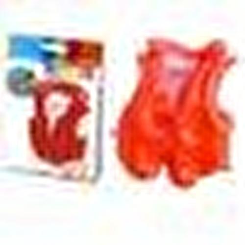 IY58671 Yakalı Kırmızı Yelek 50x47 cm