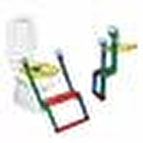 Basamaklı Klozet Lazımlık Adaptörü Renkli