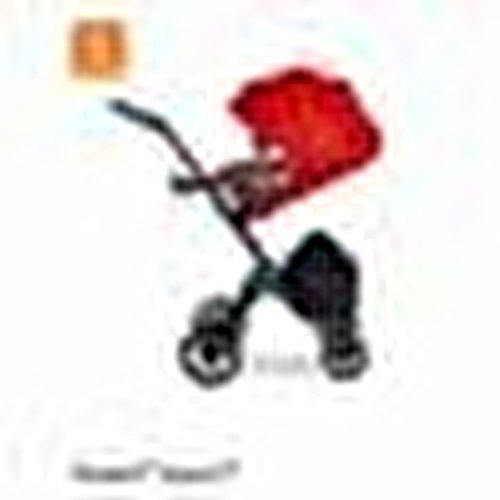 V6 Bebek Arabası Siyah Deri Tutma Kolu