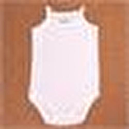 Bebek İp Askılı Body - Beyaz