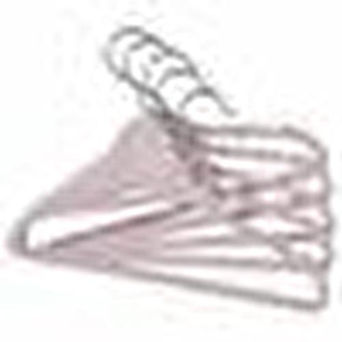 Baby Non-Slip Surface 5 Clothes Hanger 27,5 x 14 cm