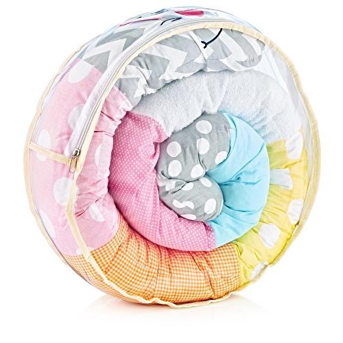 Tırtıl Bebek Yastık Pembe