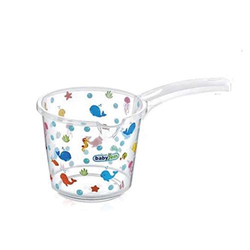 Şeffaf Desenli Banyo Maşrapa 1,25 Litre