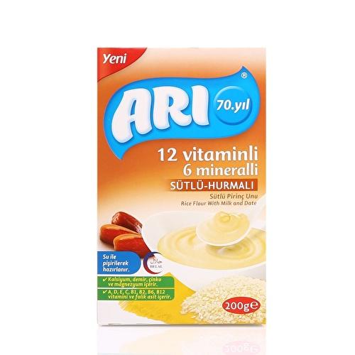 12 Vitamins 6 Minerals Goat Rice Flour with Milk 200 g