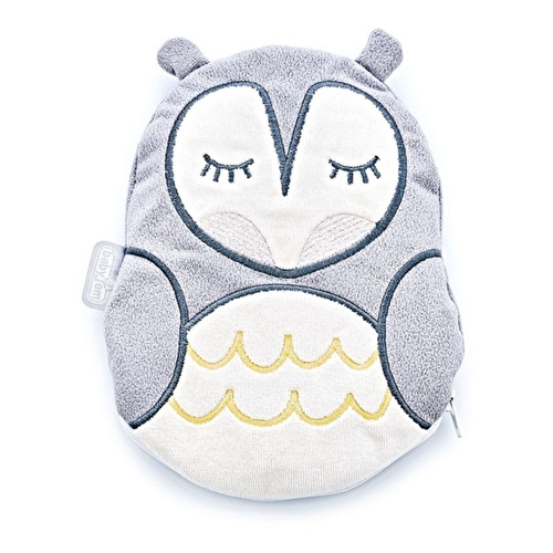 Owl Pillow Grey
