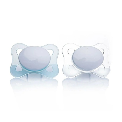 Silicone Soothers 2 pcs 0-2 Months