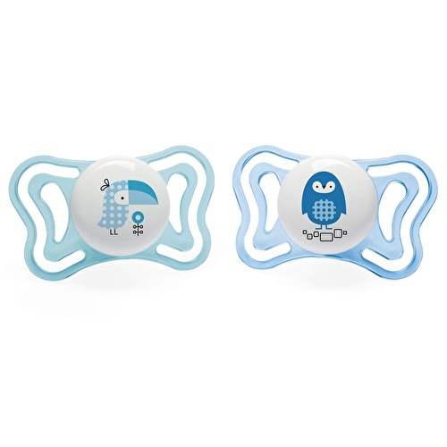 Physio Light Silicone Pacifier 2 pcs 2-6 M Baby Boy
