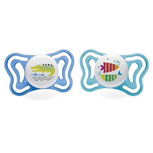 Physio Light Silicone Pacifier 2 pcs 16-36 M Baby Boy