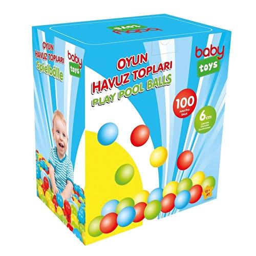 Bebek Oyun Havuzu Topları 100'lü 6 cm