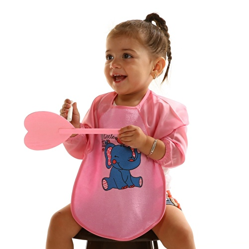 Long Sleeve Baby Apron