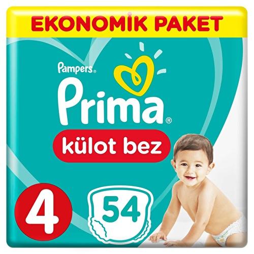 Külot Bebek Bezi 4 Beden Maxi Ekonomik Paket 9-15 kg 54 Adet