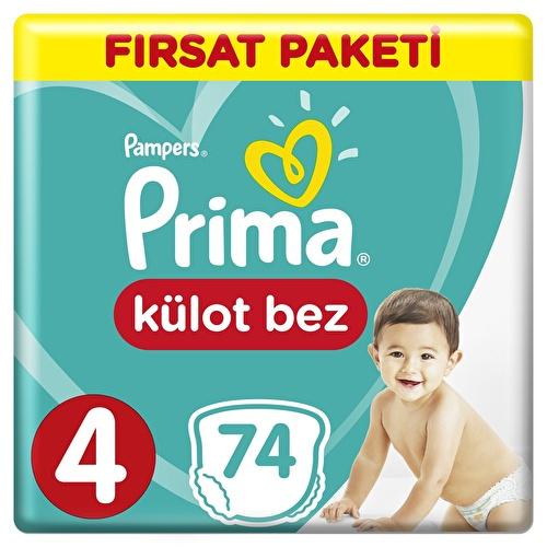 Külot Bebek Bezi Fırsat Paketi Maxi 4 Beden 9-15 kg 74 Adet