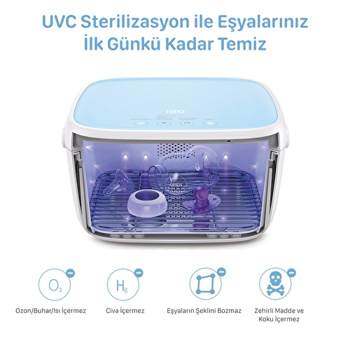 T5 Multifunctional UVC Sterilization Box
