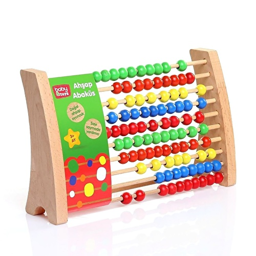 Wooden Educational Abacus Counting Toy