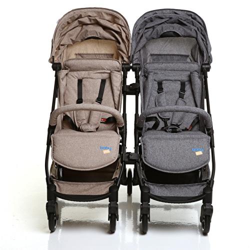 Easy Baby Stroller Twin Apparatus