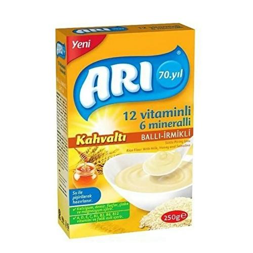 12 Vitamins 6 Minerals Milk Breakfast Honey with Semolina 250 gr