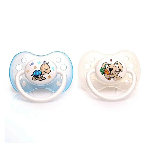 Silicone Soothers 2 pcs 16-32 Months