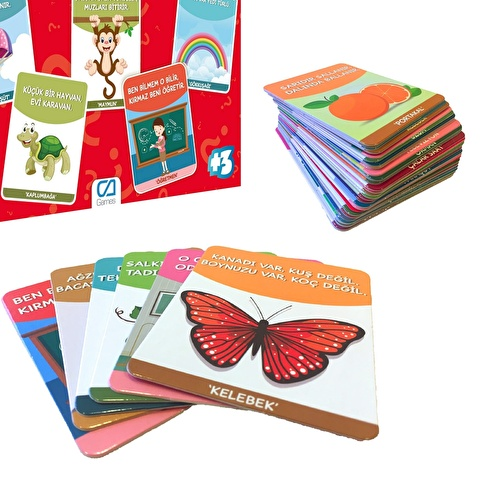 Fun Riddles 60 Cards 3 Years+