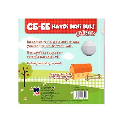 Turkish Cee Find Me Book