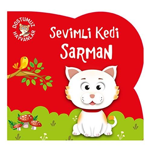 Cute Cat Sarman - Turkish Book