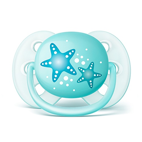 Ultra Soft Baby Pacifier 2pcs