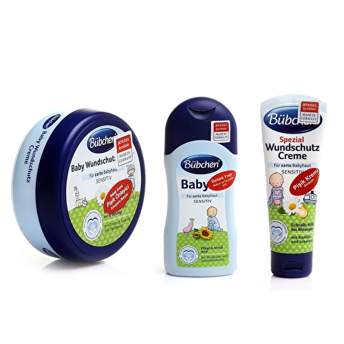 Rash Cream Set Rash Cream 75ml+Barrier Cream 150ml+Baby Oil 200ml