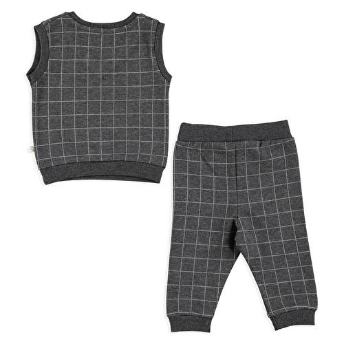 Winter Smile Baby Sweater Pants 2 pcs Set