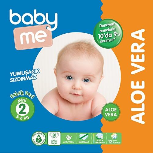 Aloe Vera Mini Number 2 Baby Diaper 3-6 kg 50 pcs
