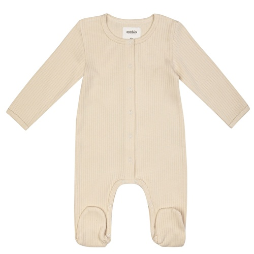 Organic Footed Baby Girls&Baby Boys Long Sleeve Romper