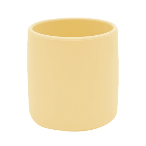 Silikon Mini Bardak Sarı