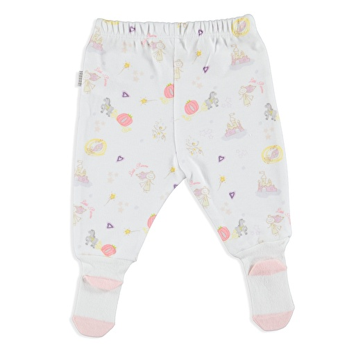 Princess Organic Baby Footed Trousers