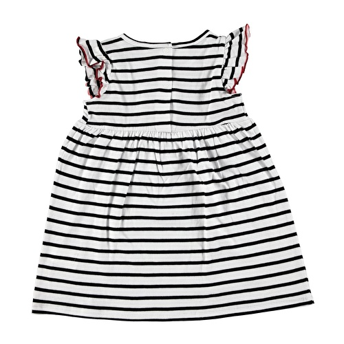 Baby Girl Minnie Mouse Striped Dress