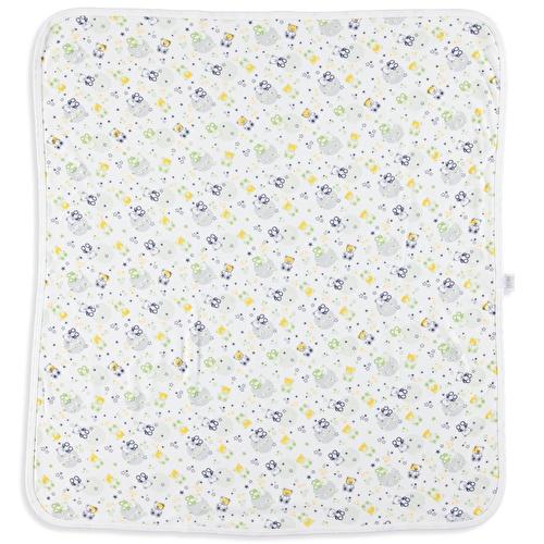 Sweet Bears Soft Bebek Baskılı Çok Amaçlı Battaniye 80x80 cm