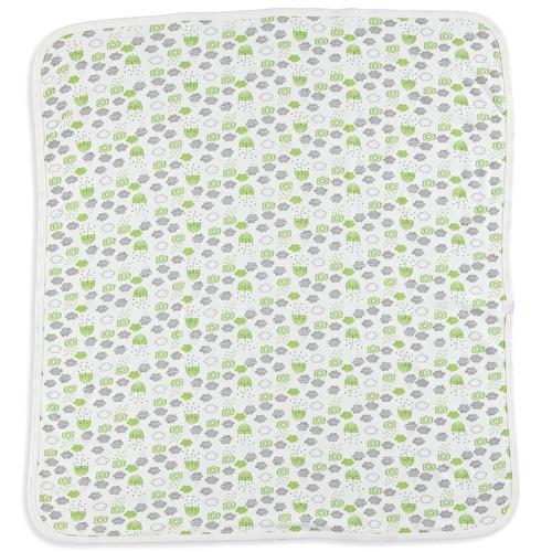 Rainly Days Printed Multipurpose Soft Baby Blanket 80x80 cm